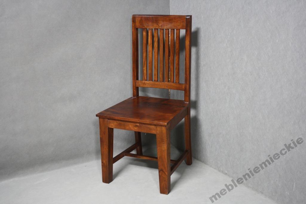 Krzesło Akacja Krzesła Drewniane Komplet Oxford 5543715029