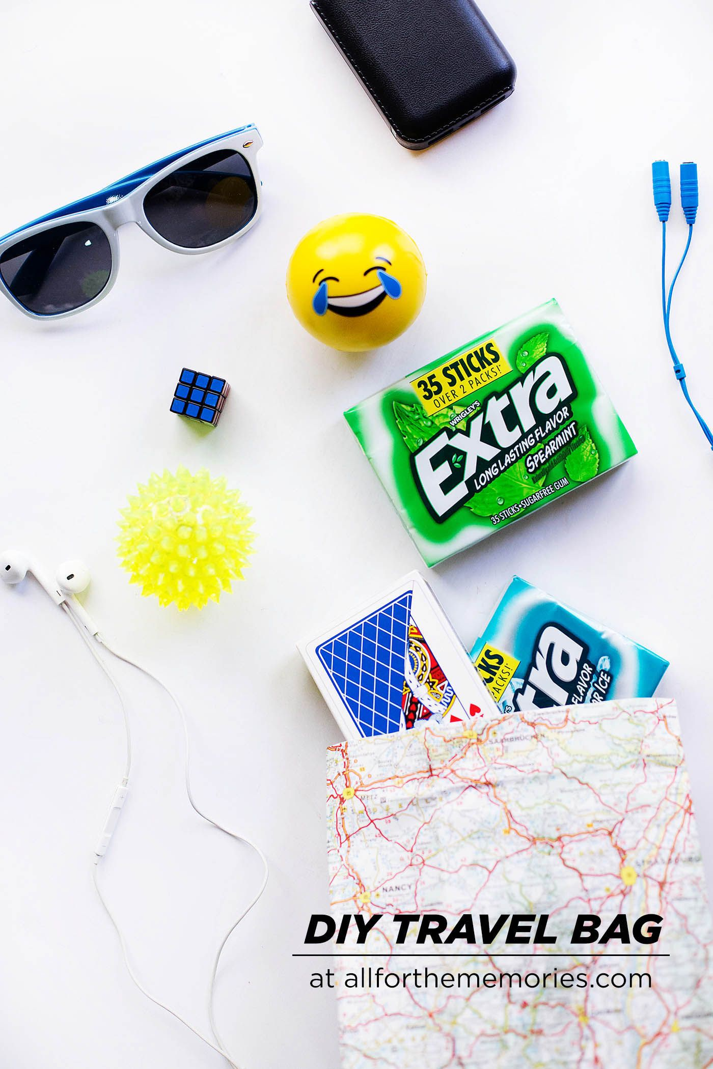 diy road trip bag for teens fun items and a few essentials for a