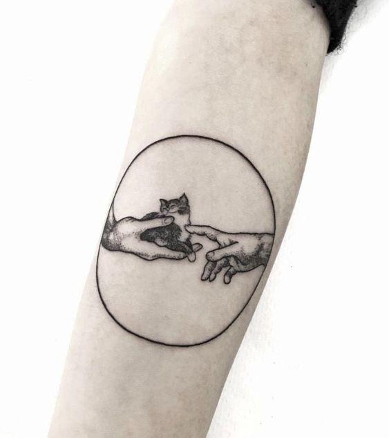 153 Adoras A Los Gatos Y Te Gustan Los Tatuajes 170 Fascinantes Tatuajes De Gato Para Ti Tatuajes De Arte Corporal Tatuaje Gato Tatuajes