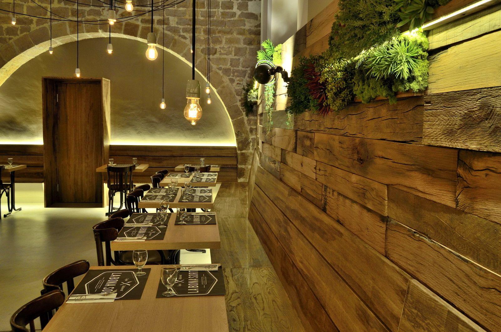 Интерьер ресторана в Барселоне — HQROOM