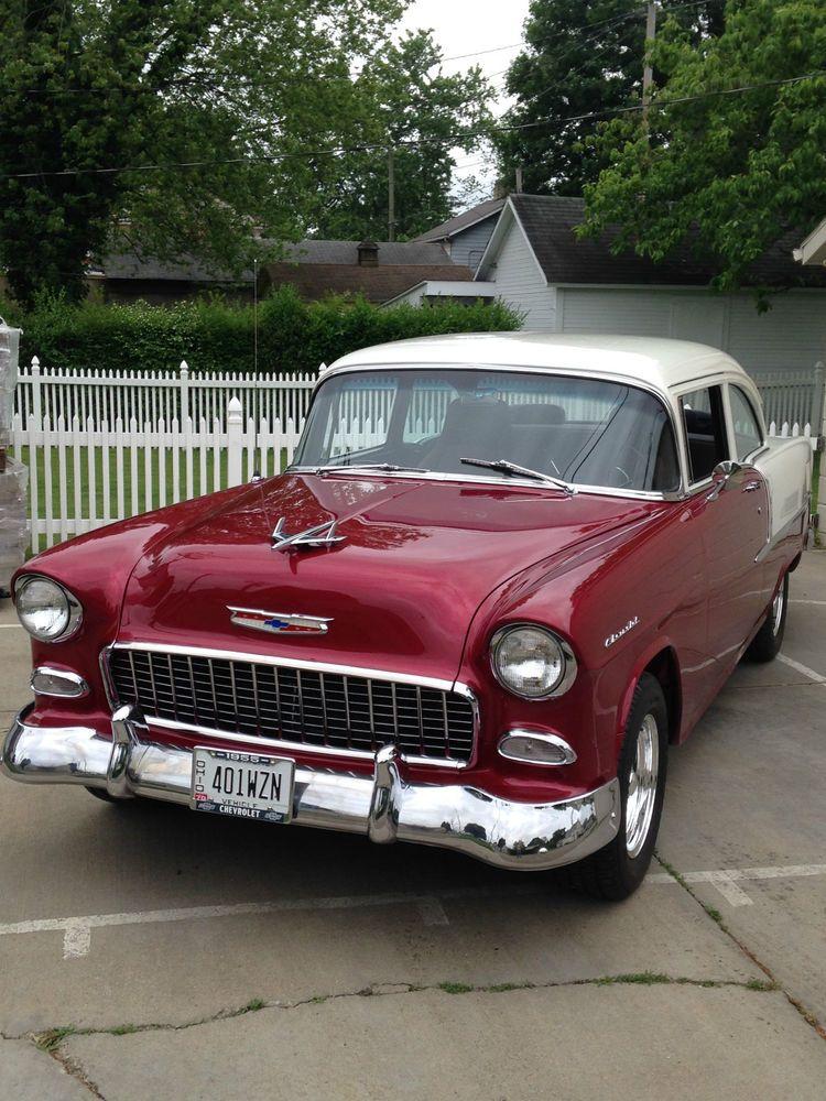 1955 Chevrolet Bel Air/150/210 Sedan Chevrolet bel air