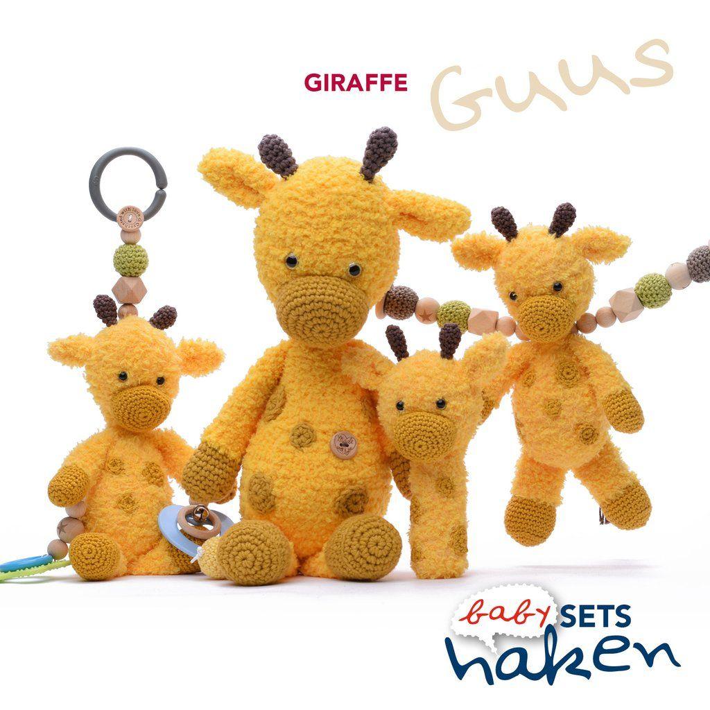 Giraffe Guus Uit Babysets Haken 2 Cutedutch Pinterest Haken