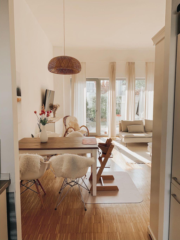 Guten Morgen aus unserem Wohn-Essbereich. #wohnzimme in 7