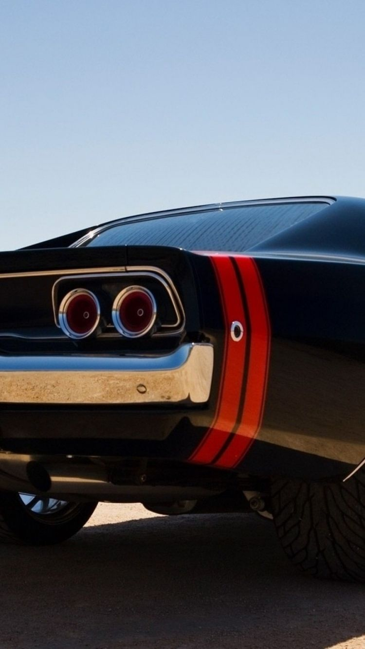 Download Wallpaper 750x1334 Muscle Cars Dodge Charger Car