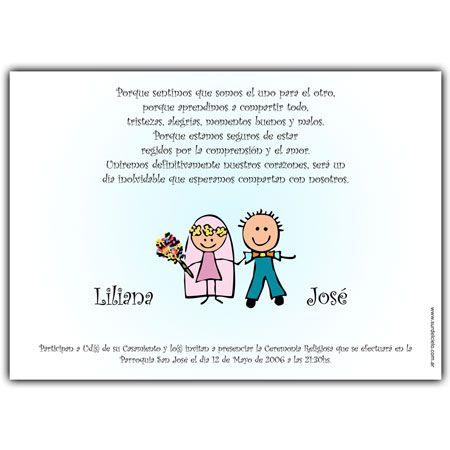 Wedding Invitation Card Tarjeta Invitación Para Bodas