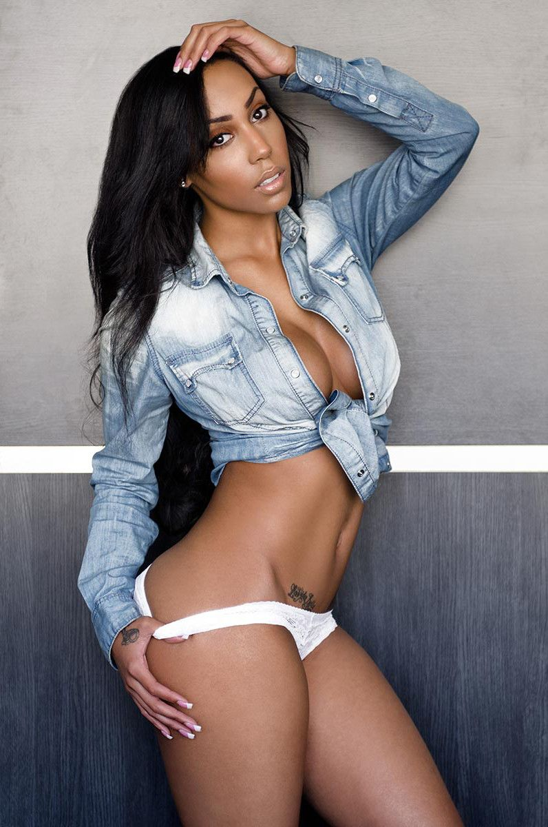 Ebony Babes In Panties
