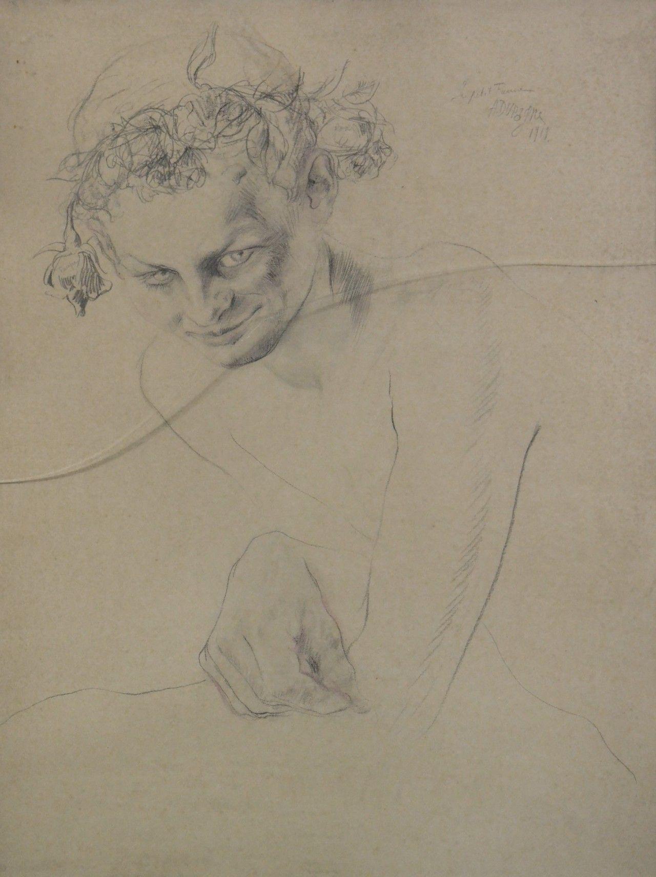 Arthur Dupagne (1895-1961) - Le petit faune, 1919