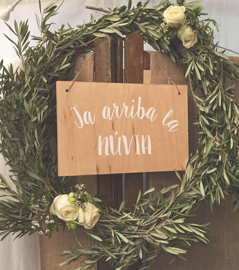 Los carteles de boda más bellos para una fecha tan señalada, letreros para bodas personalizados y únicos para una boda especial, original y diferente.