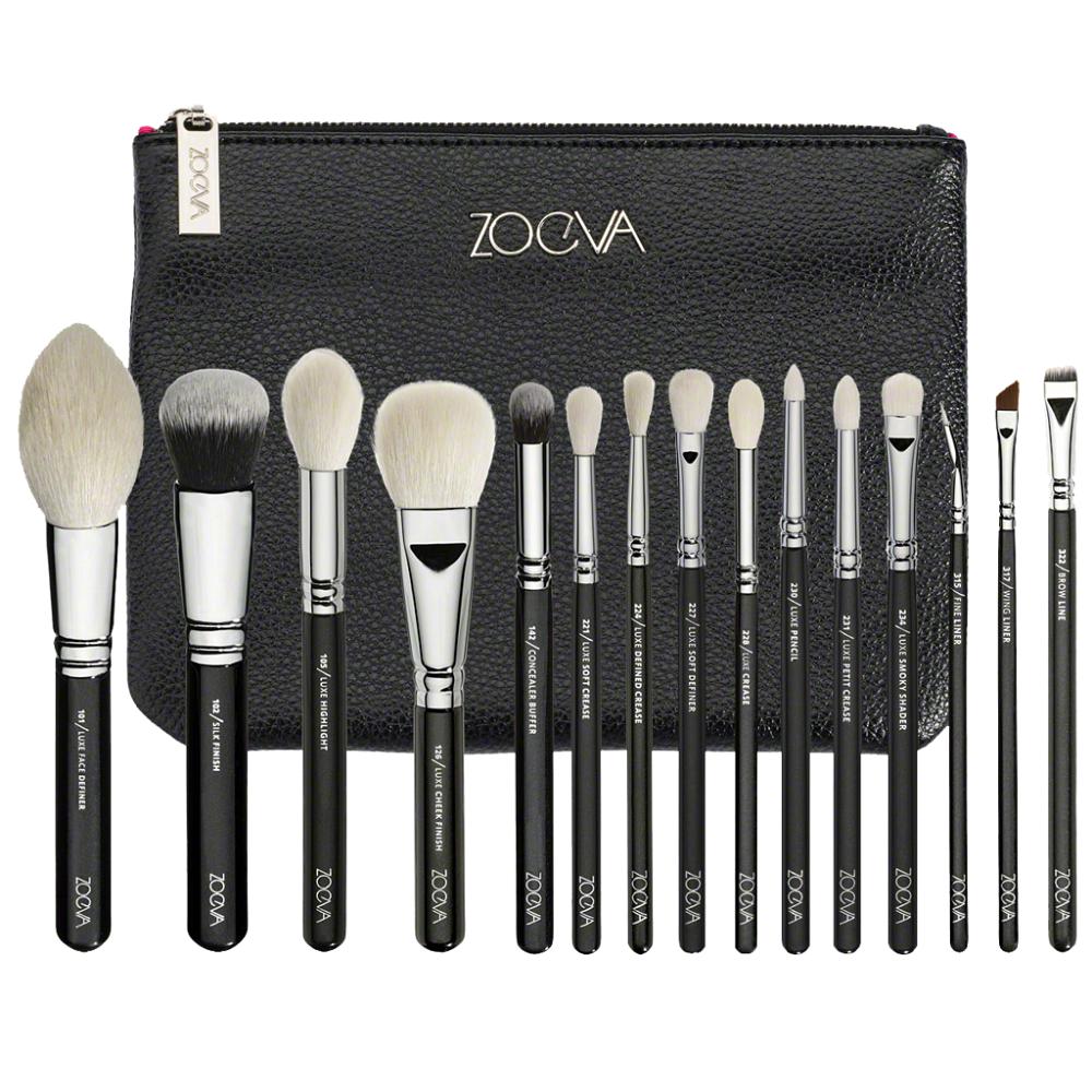 ZOEVA | 15pcs Makeup Brushes Luxury Complete Set Vol.1