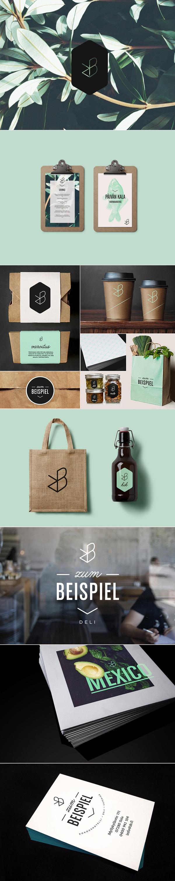 Zum Beispiel Identity On Behance Branding Design Inspiration Identity Design Branding Design