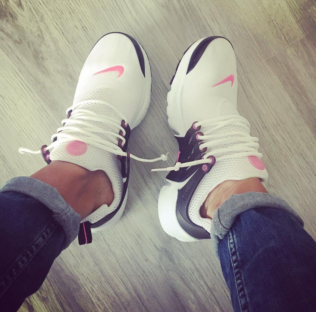 amazing selection for whole family 50% price Nike Air Presto in weiß/pink   pretty in 2019   Shoe boots ...