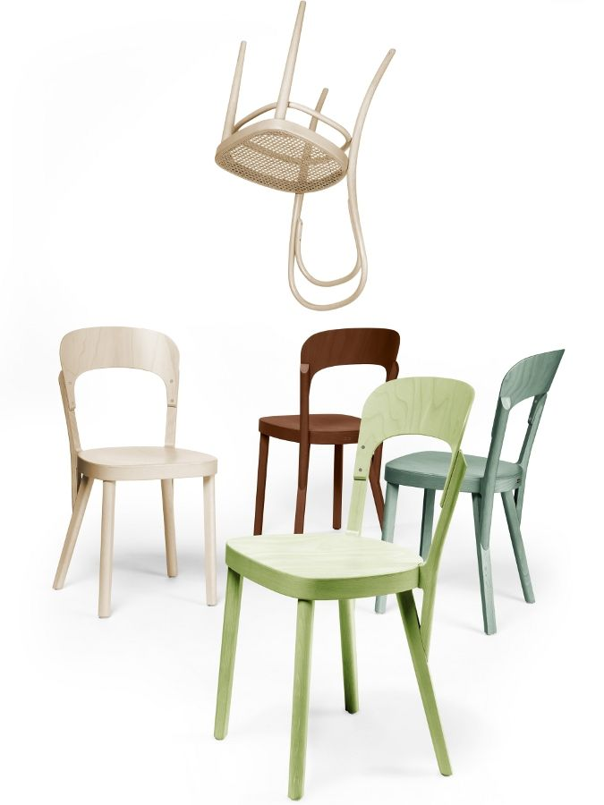 The 107 Chair by Thonet Inspired by Coffee House Culture Yet
