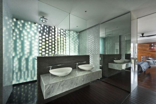 105 idées de design de la salle de bain de style moderne Pinterest