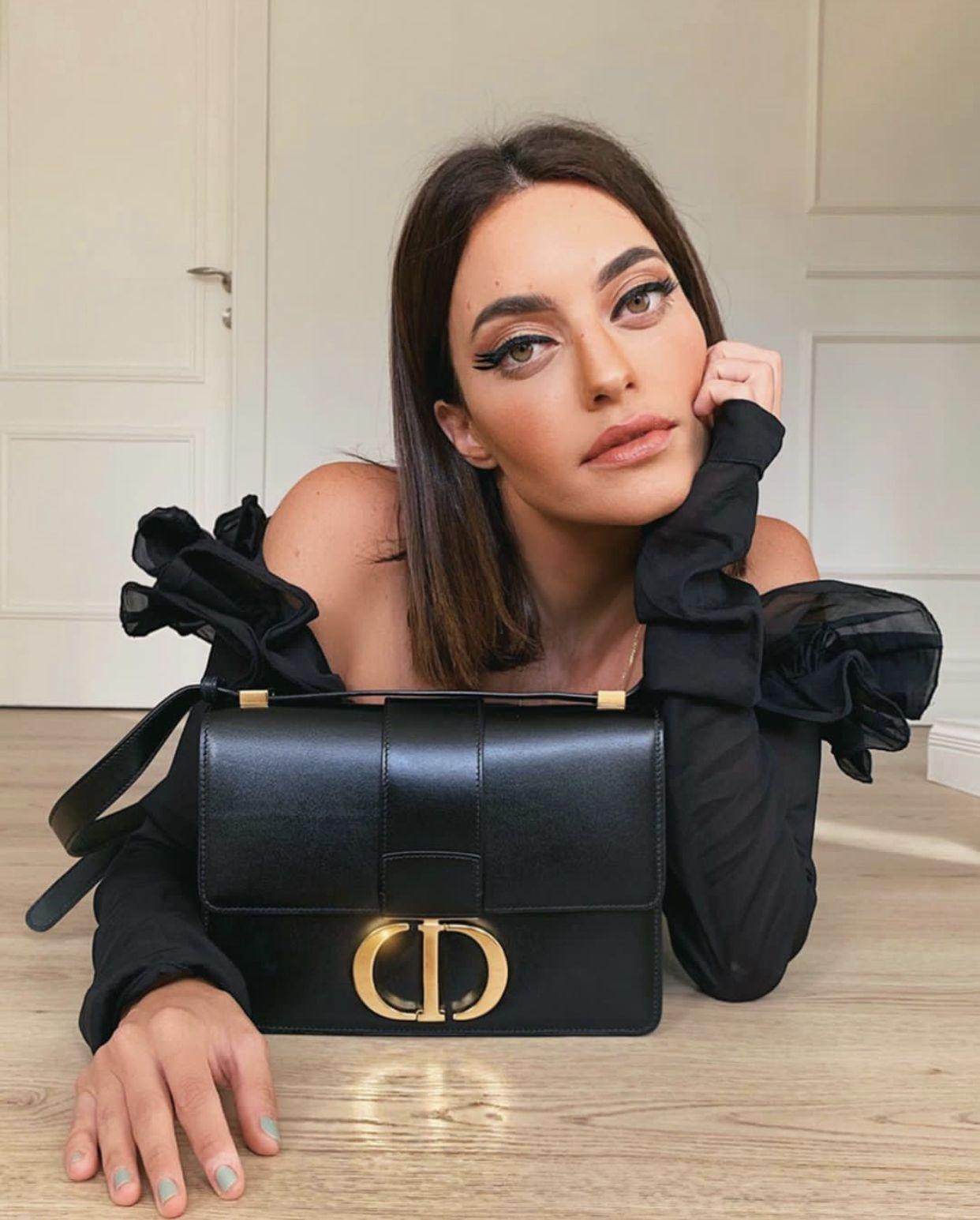 aad75468 30 Montaigne calfskin bag   The Dior 30 Montaigne bag in 2019   Dior ...