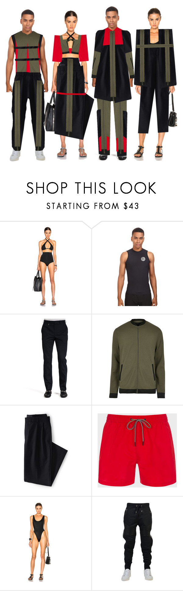 """""""Fashion Collection"""" by coppin-s ❤ liked on Polyvore featuring Ephemera, Rip Curl, Salvatore Ferragamo, River Island, Lands' End, Paul Smith, Norma Kamali and Philipp Plein"""