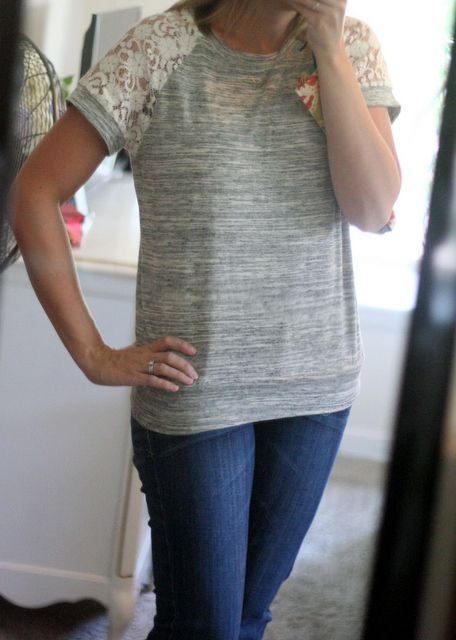 Dear Stitch fix stylist - Is this top still available? Fix #7:  Le Lis Polli Lace Detail Knit Top