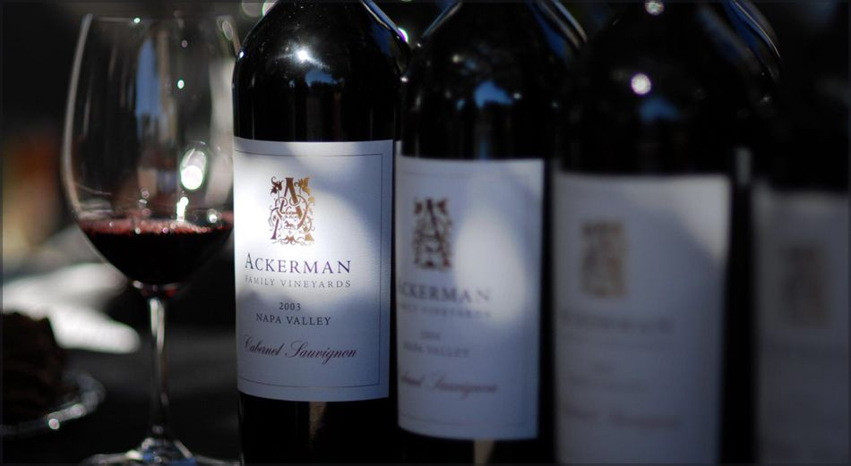 Ackerman Family Vineyards ... explore the wines of the Coombsville AVA, Napa Valley's newest appellation