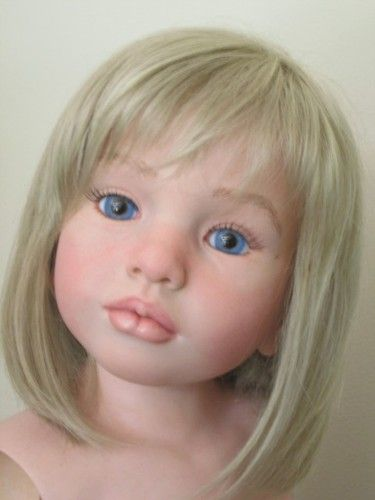 "Reborn Toddler Child Sized Big Girl 40"" Tall ALOENKA by Natali Blick | eBay"