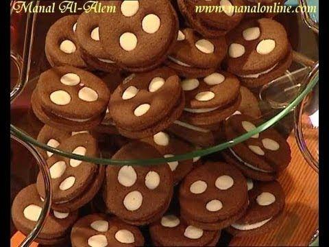 بسكويت شوكولاتة مزخرف منال العالم Desserts Gingerbread Cookies Gingerbread