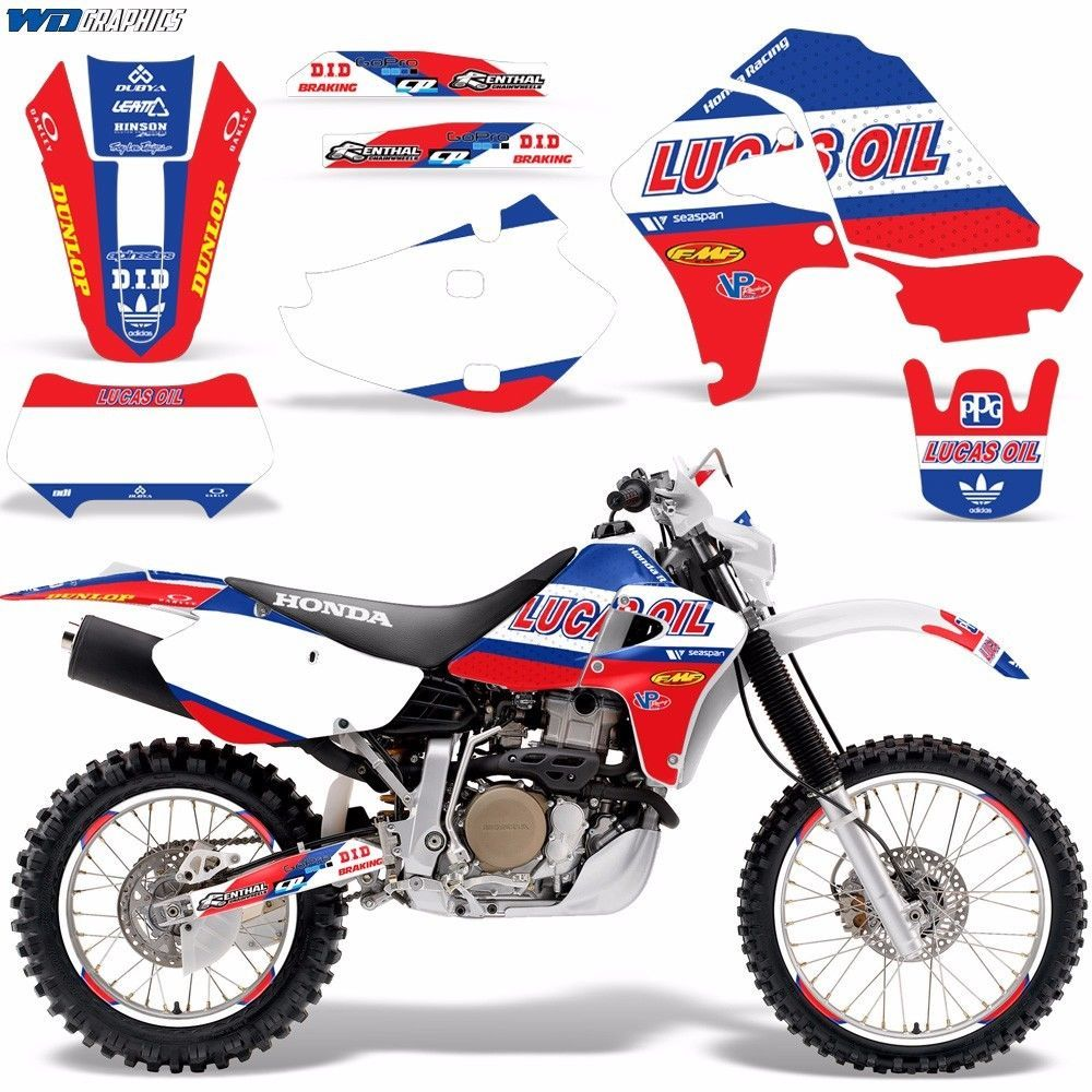 details about graphic kit honda xr 650 decal wrap w. Black Bedroom Furniture Sets. Home Design Ideas