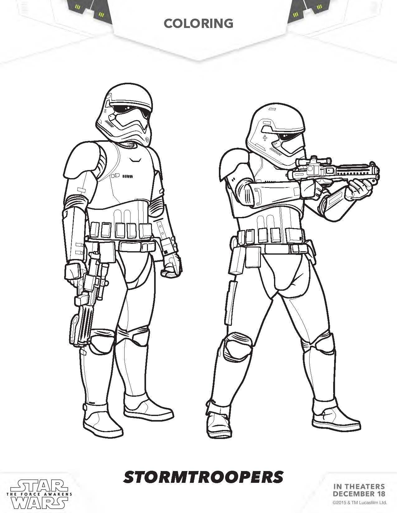 Stormtrooper Coloring Page Stormtrooper Coloring Pages