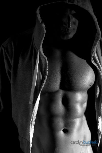 High Contrast Lighting Fitness Photo