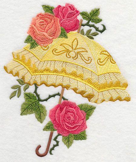 Combination of Flowers Machine Embroidery Appliqu\u00e9