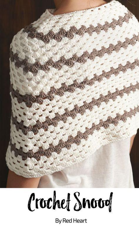 Crochet Snood Free Crochet Pattern In Cleckheaton Superfine