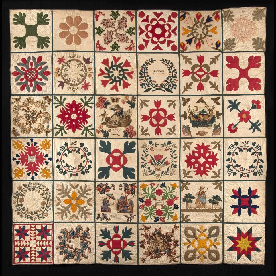 Collection of Colonial Williamsburg, and I'm thinking it's 1858 ... : williamsburg quilts - Adamdwight.com