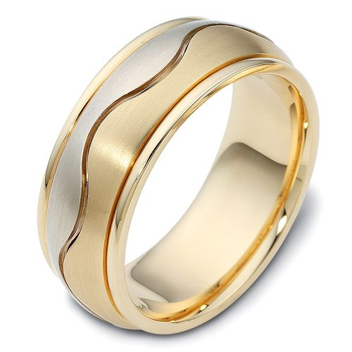Men S Two Tone Band 405 Seattle Bellevue Joseph Jewelry Favorite Engagement Rings Wedding Rings Rings