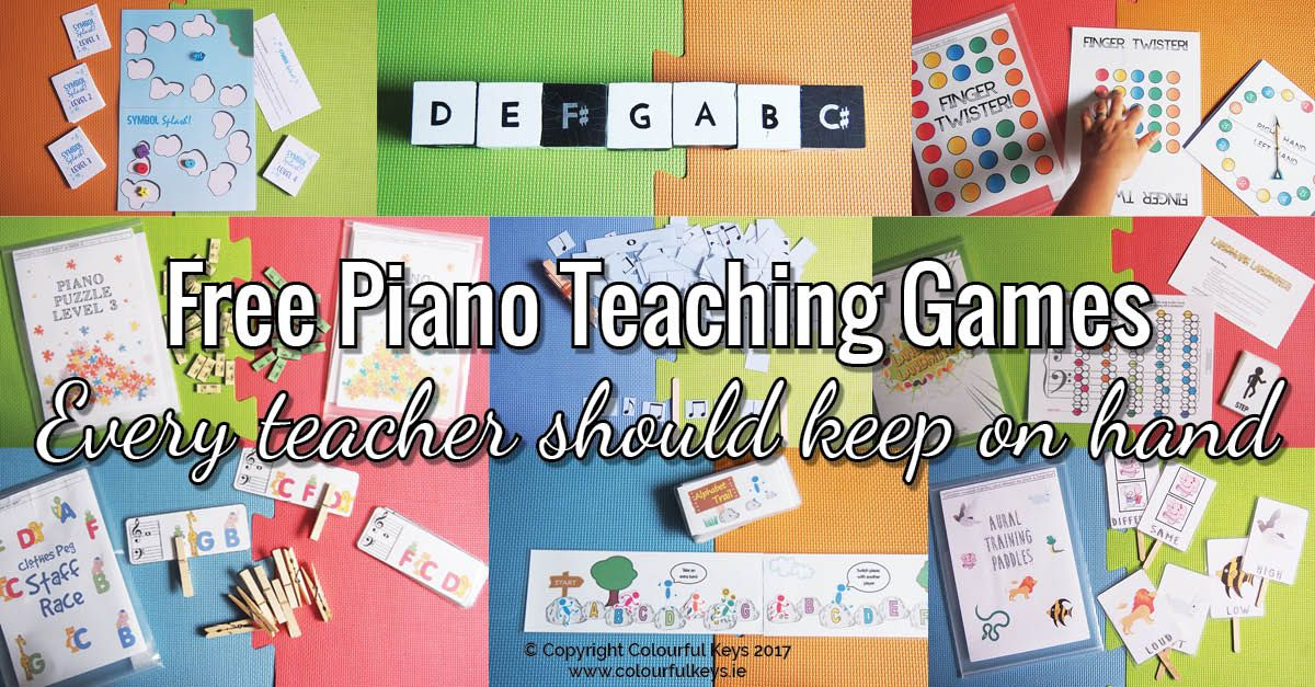 Top 9 Absolutely Essential Free Piano Teaching Games (With