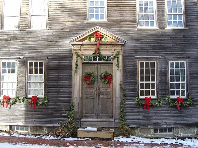 Ordinaire Lovely Colonial Christmas Decorating Ideas   Best Template Collection