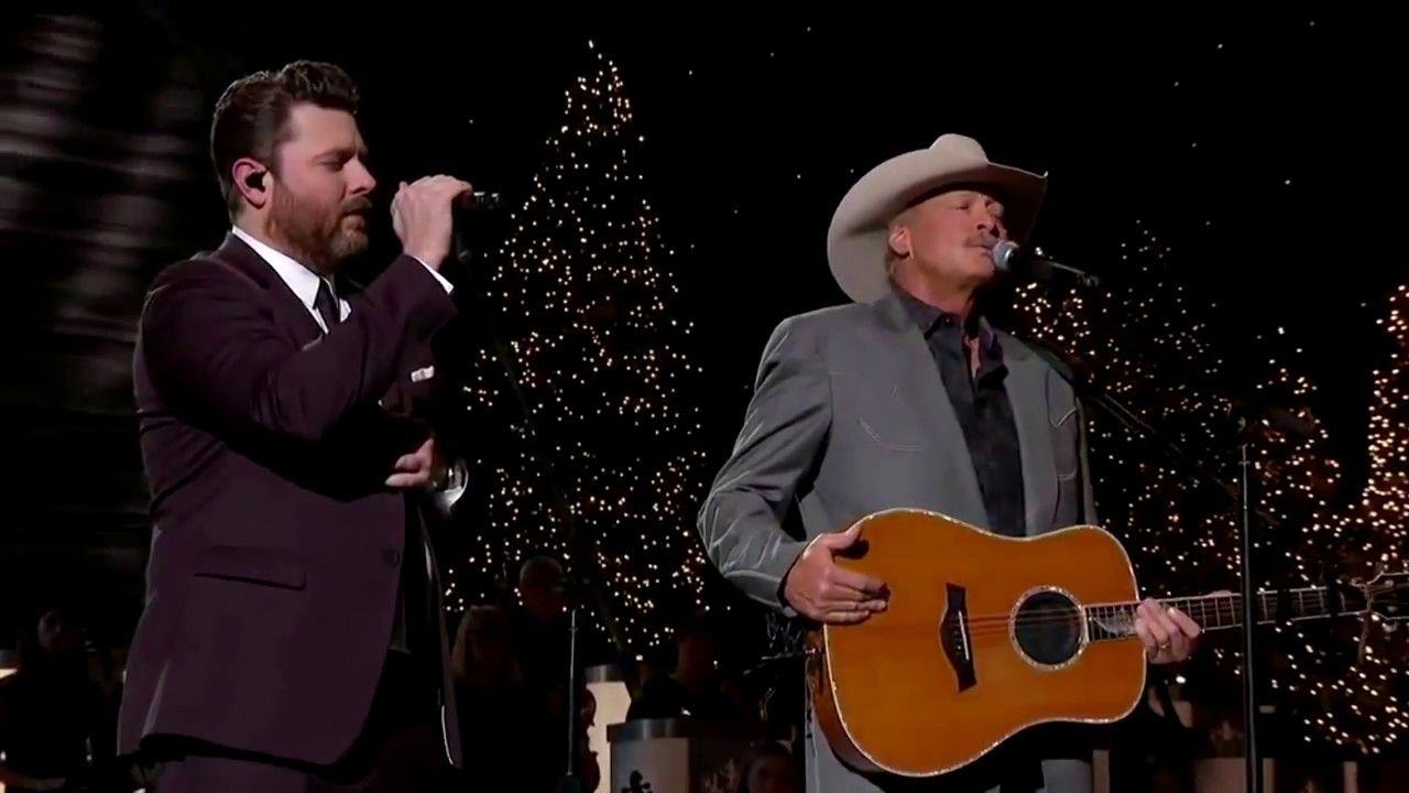 Alan Jackson and Chris Young There's A New Kid In Town CMA Country Chris... (With images ...