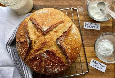 Sourdough: It's not just for crusty artisan breads.   King ...