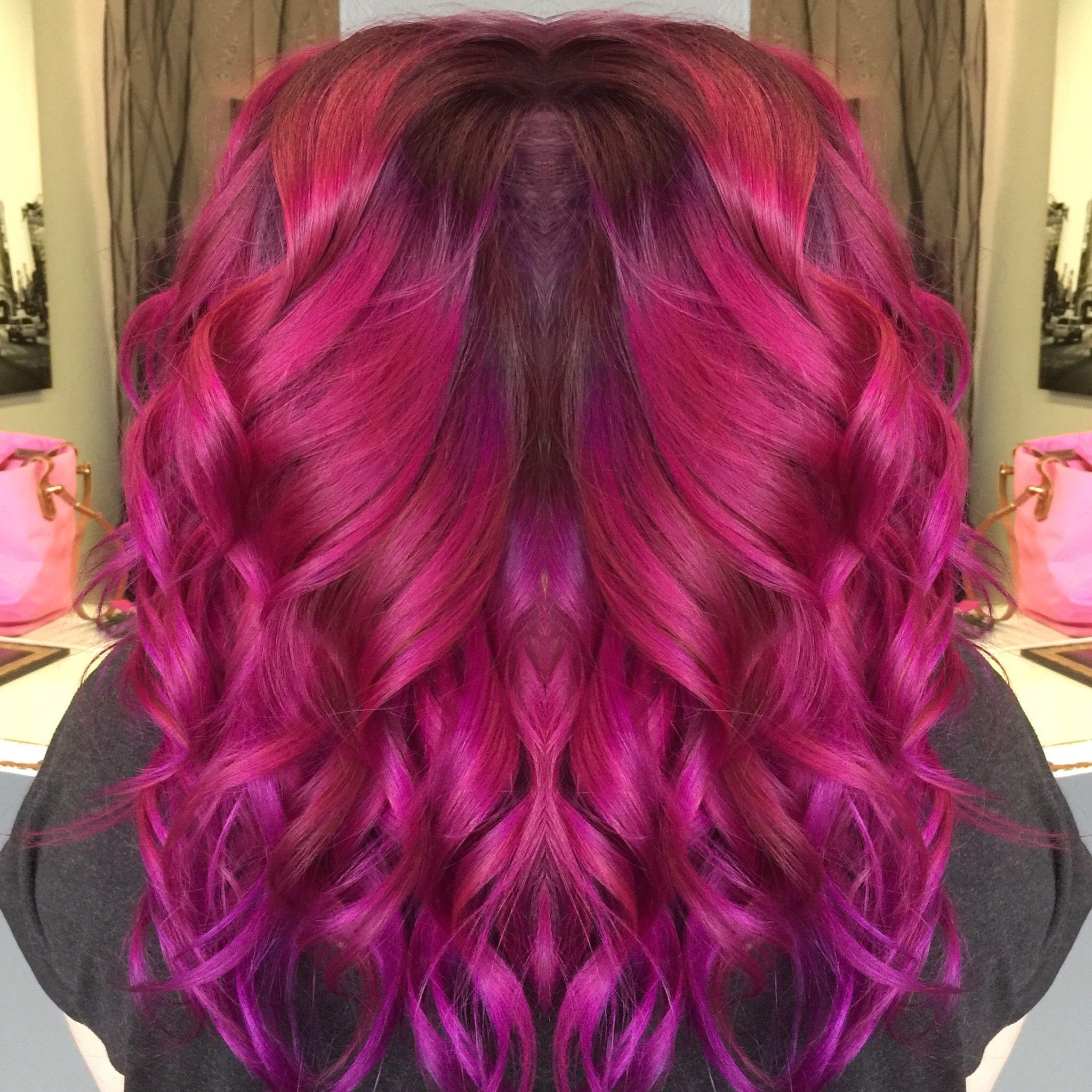Pulp Riot Magenta Hair Color
