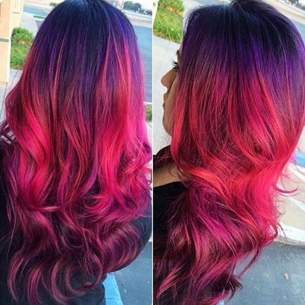 10 Shades Of Red More Choices To Dye Your Hair Red Red Ombre Hair Hair Styles Hair Color Red Ombre