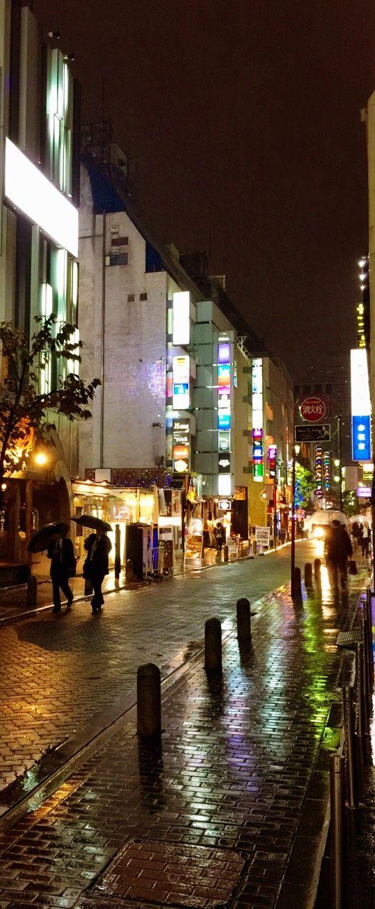 Akasaka en la lluvia | Microblog de UnGatoNipón