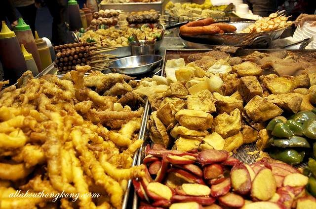 Hong Kong is famous for its wide variety of street food and it's just so much fun to explore the street food culture here