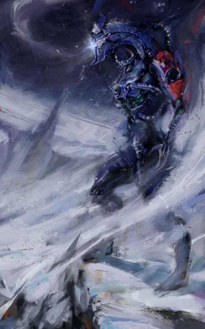 Legion (Mass Effect concept art) by Sean Donaldson