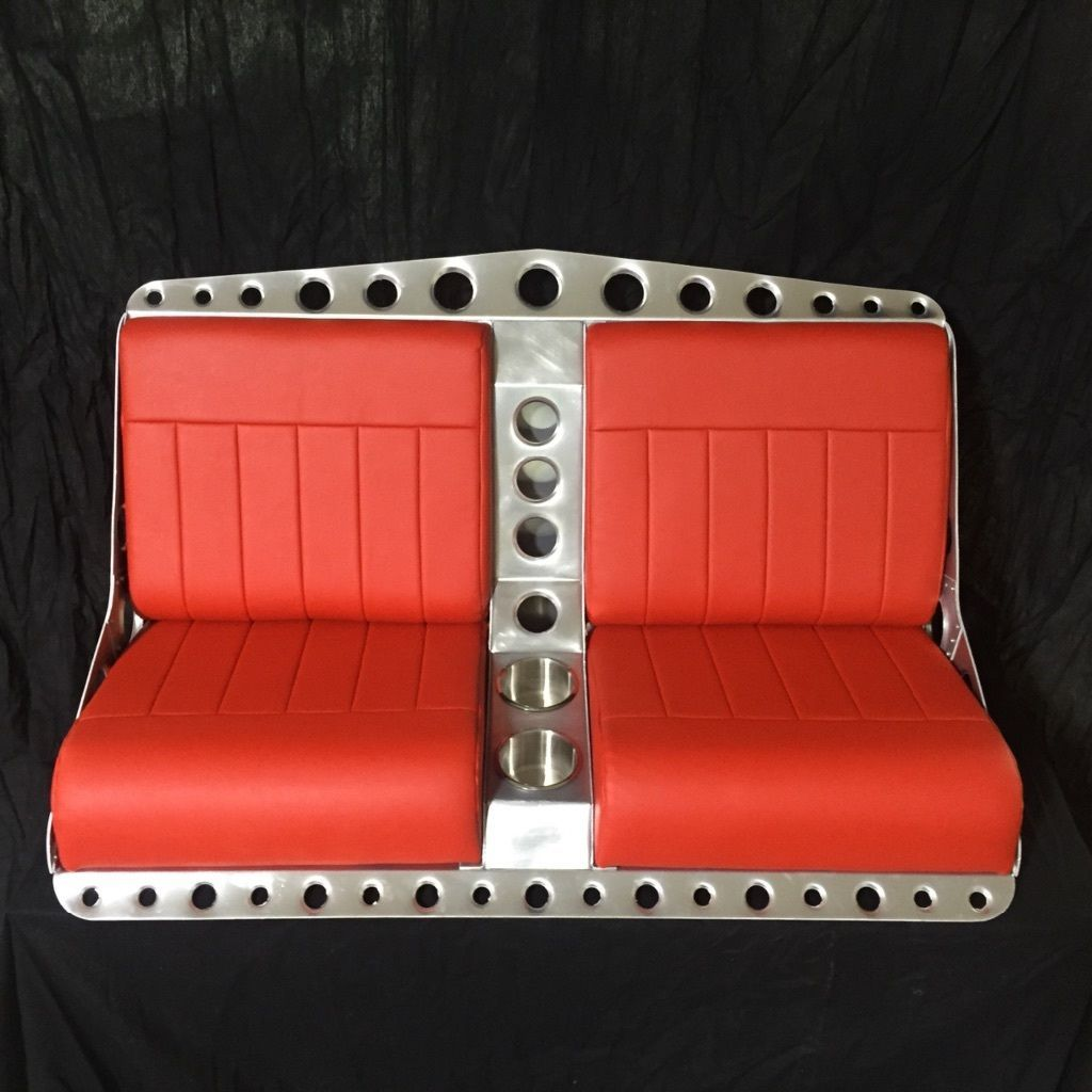 Groovy Bomber Style Bench Seat For Rat Rod Street Rod Or Airboat Dailytribune Chair Design For Home Dailytribuneorg