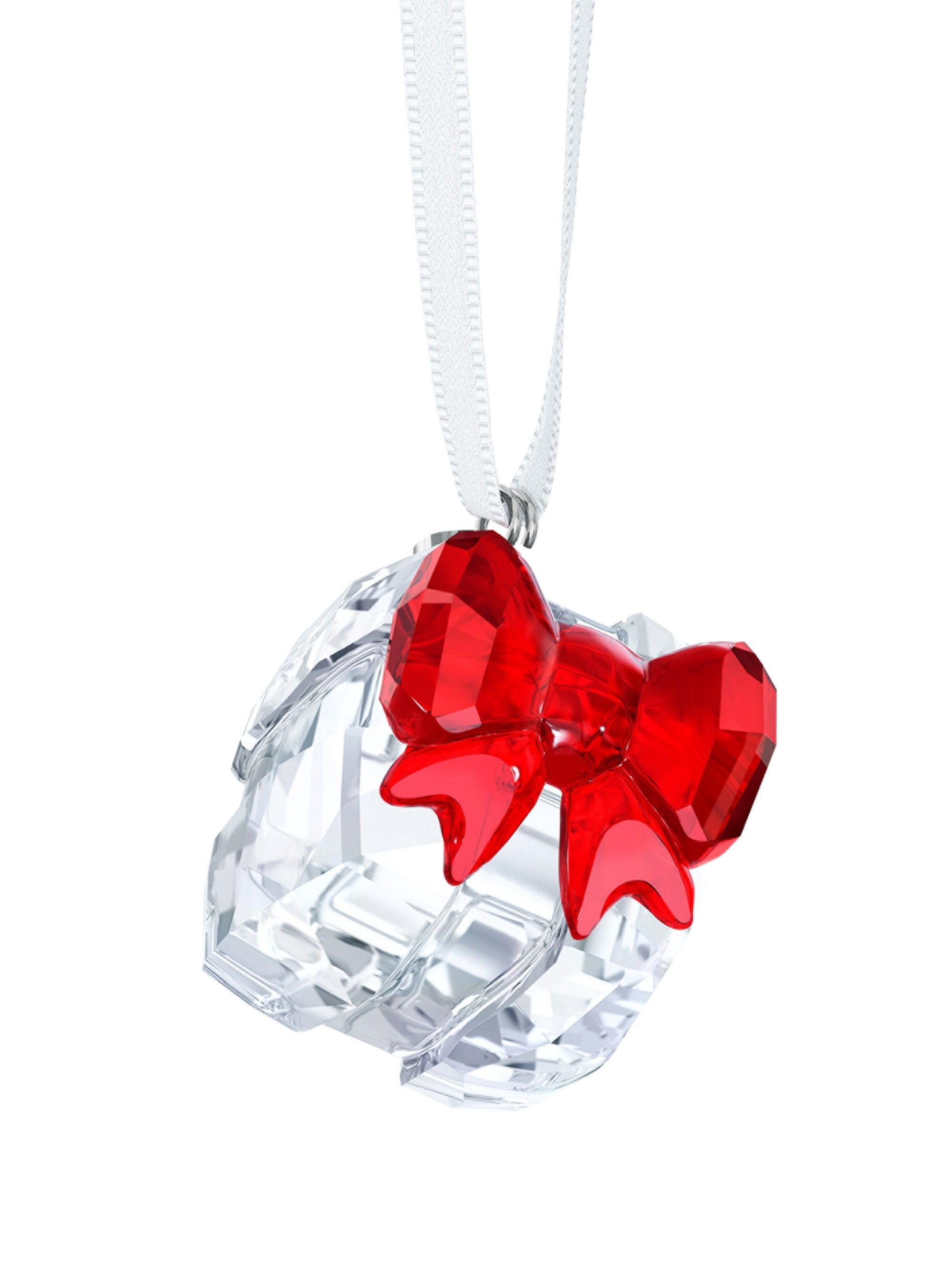 f093e7b40 Swarovski Crystal Gift Box Christmas Ornament | Products | Swarovski ...