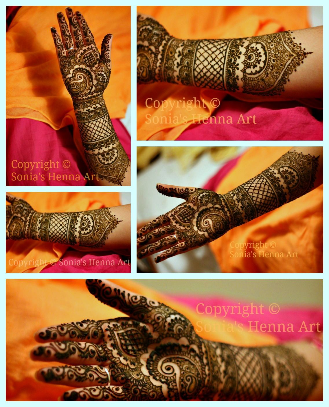 1000 Images About Bridal Henna Mehndi Designs On Pinterest