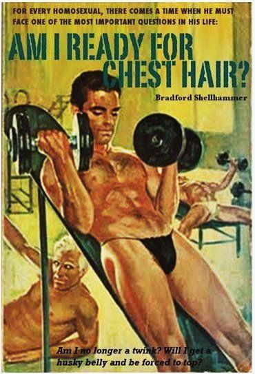 Vintage homosexual sex in a gym