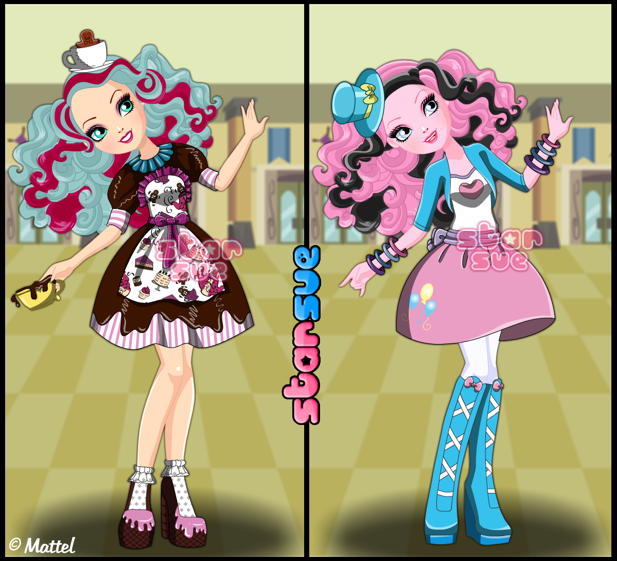 Dress up five nights at freedys - Madeline Hatter X Pinkie Pie Crossover Dress Up Game Http Www