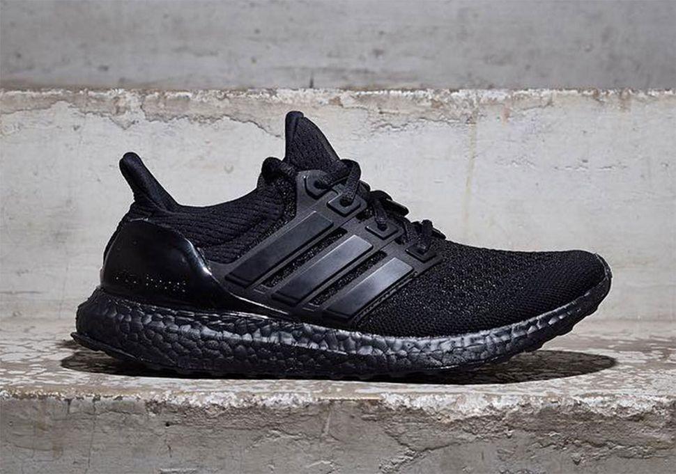 Adidas Ultra Boost Triple Black Sneakers Mode Manner Turnschuhe Turnschuhe