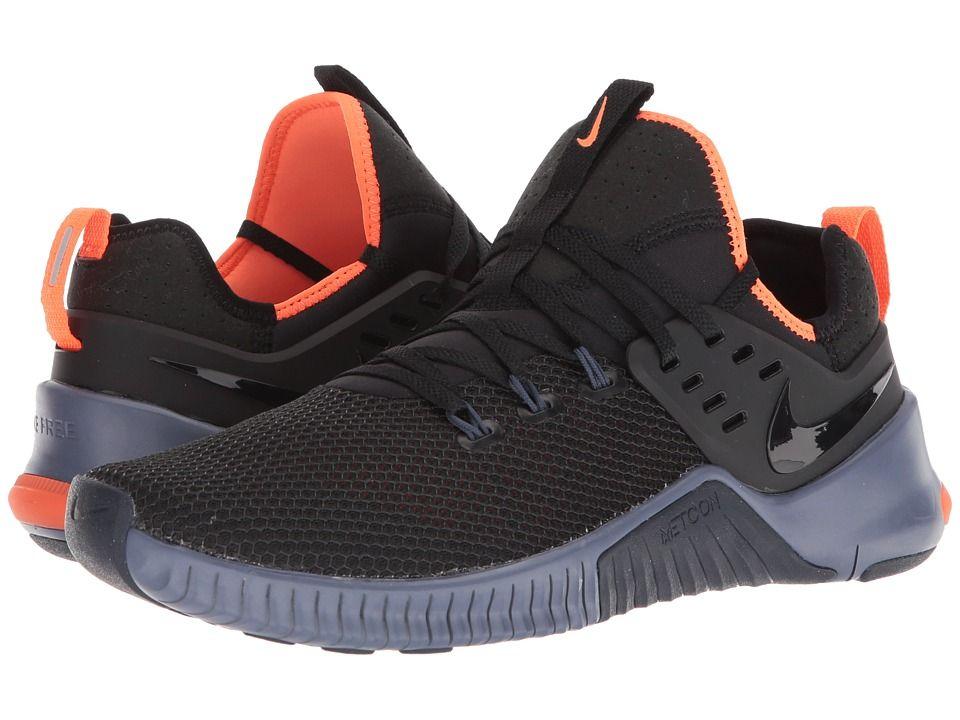 7633d2434369 Nike Metcon Free Men s Cross Training Shoes Black Thunder Blue Hyper Crimson