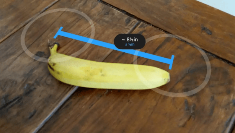 Google's AR measurement app is coming to an Android phone