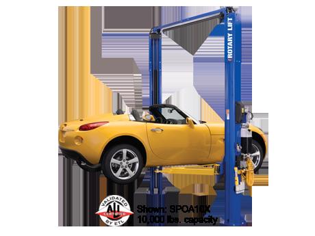 2 Post Asymmetrical | The Shop | Lifted cars, Car hoist, Rotary