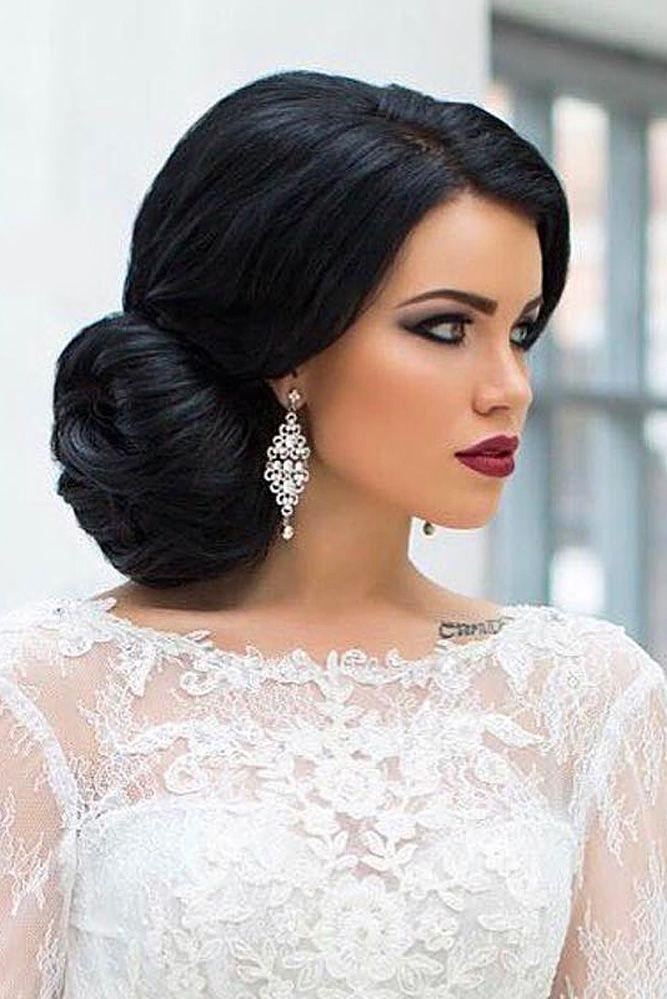 36 Always Feminine Vintage Wedding Hairstyles Wedding Forward Bride Hairstyles Vintage Wedding Hair Long Hair Styles