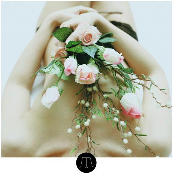 #girl #beauty #flower #rose #white #sleepingbeauty #beauty #woman #nude
